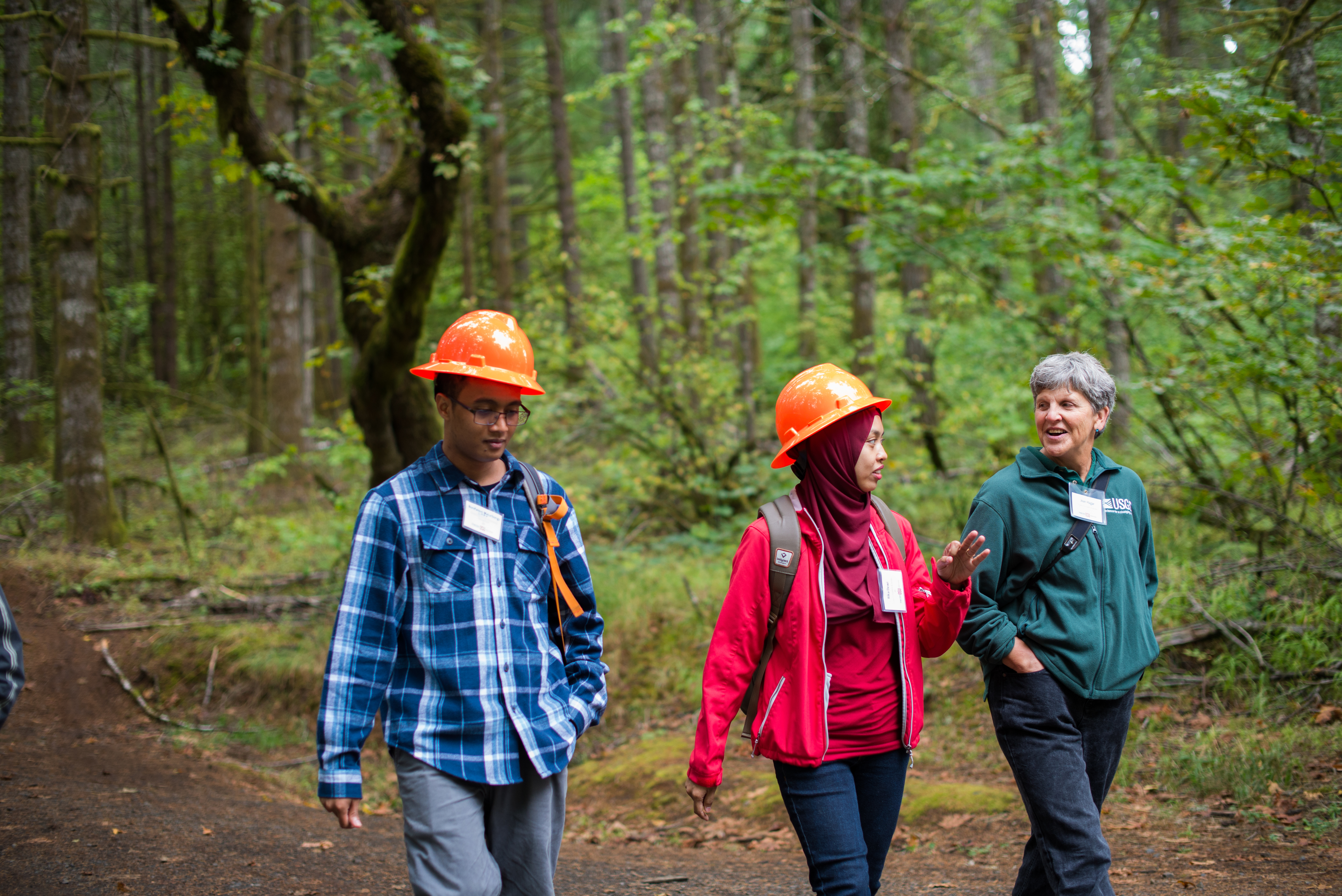 international students in Corvallis forest